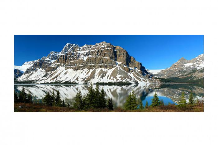 Фотокартина Горных хребет у озера