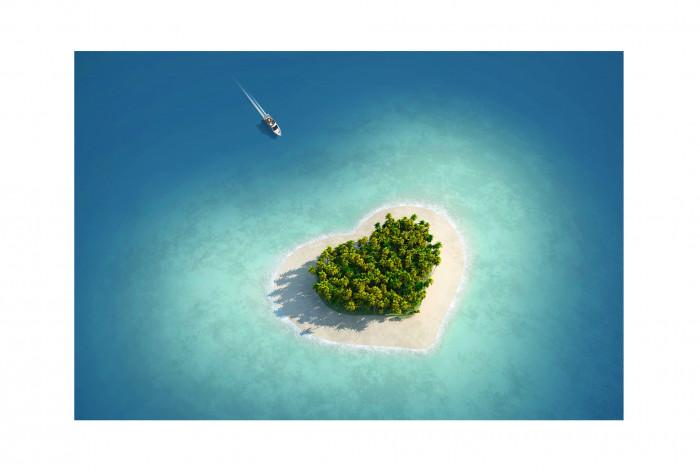 Фотокартина Остров Любви