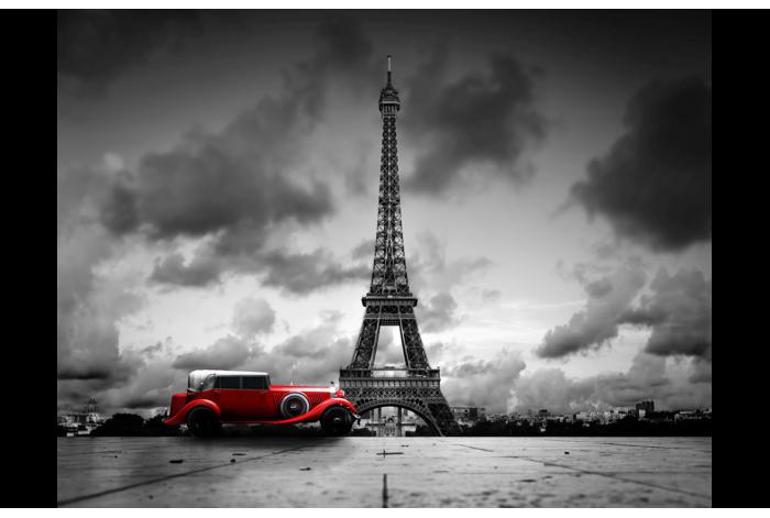 Фотокартина Ретро авто Париж