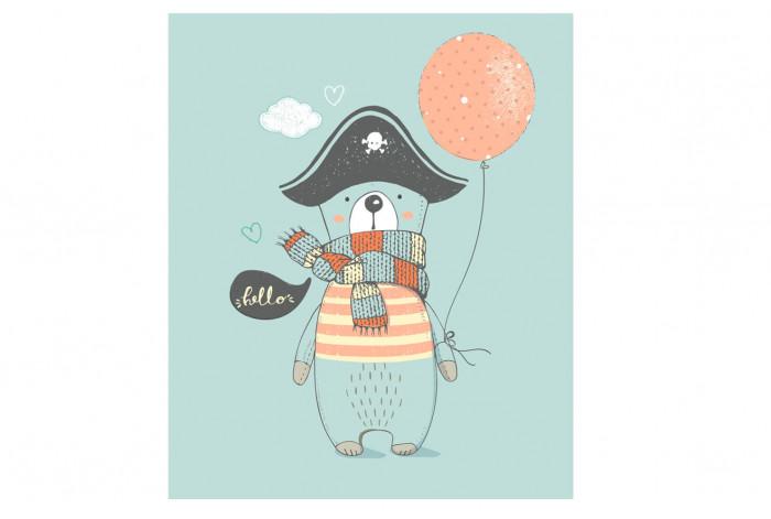 Картина Мишка-пират